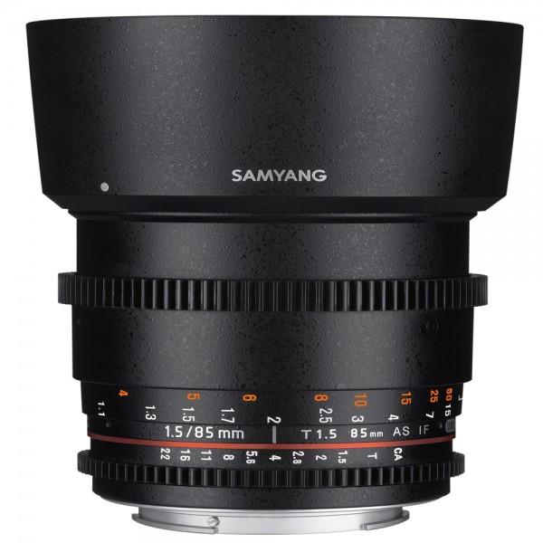Samyang - 85/1.5 Video DSLR II für Sony E-Mount Samyang