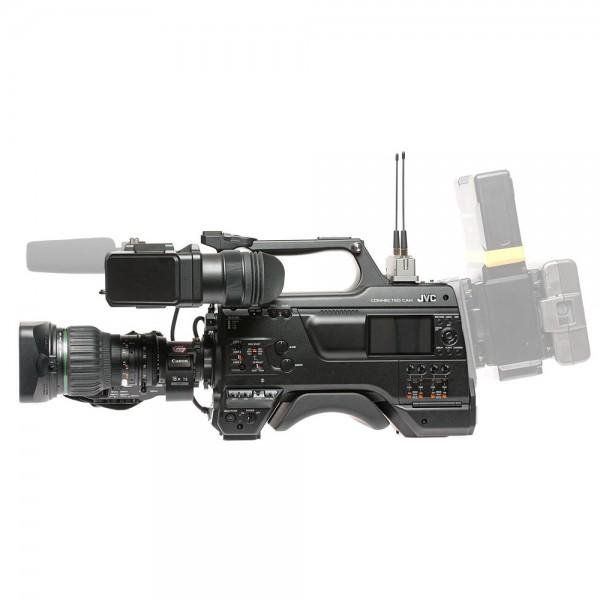 JVC - GY-HC900CHE + WiFi + GPS + VF-E900G EVF + Canon KJ20X8.2BKRSD JVC