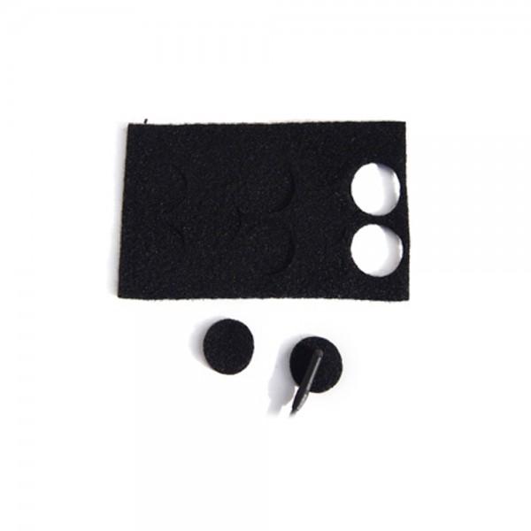 Rycote - Undercover Stickies schwarz Rycote
