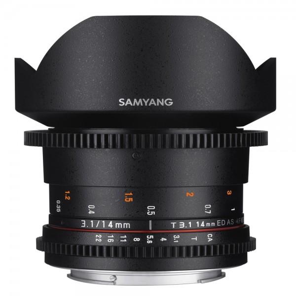 Samyang - 14/3.1 Video II Objektiv für Sony E Samyang