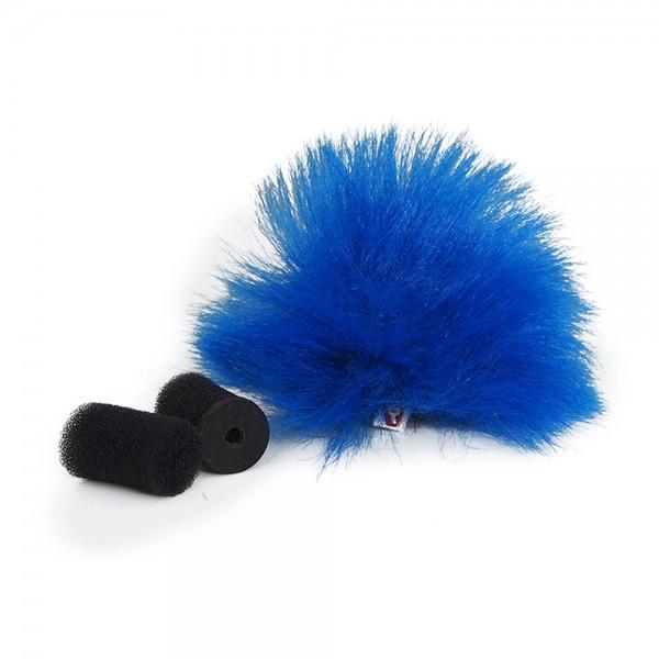 Rycote - Blue Lavalier Windschutz - single Rycote