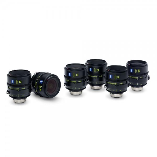 Zeiss - Supreme Prime Set T1.5/25/29/35/50/85/100mm PL Zeiss