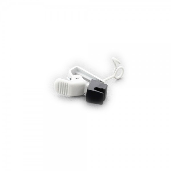 Sanken - Kroko-Clip HC-11V weiß Sanken