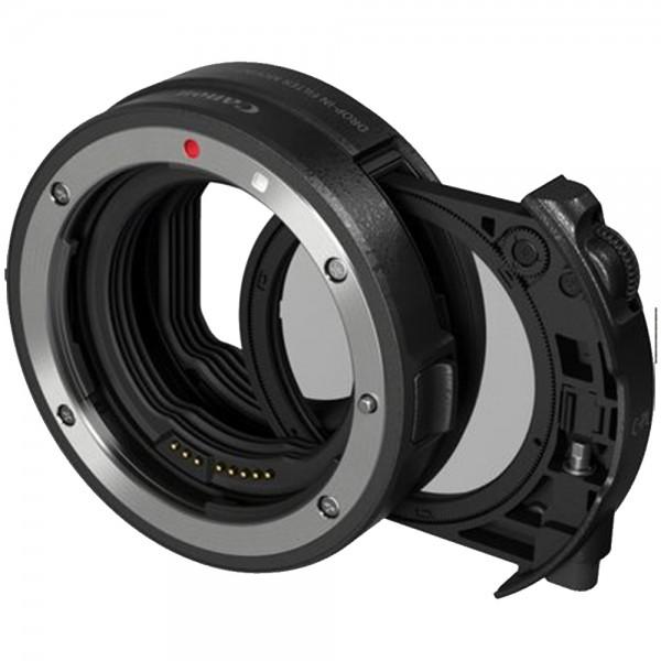 Canon - Bajonettadapter mit Einsteckfilter-Halter EF-EOS R mit Zirkularpolfilter A Canon