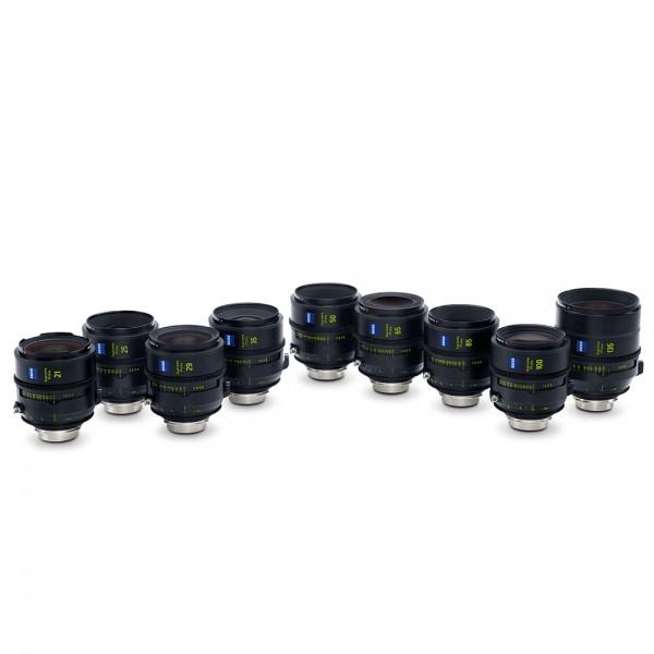 Zeiss - Supreme Prime Set T1.5/21/25/29/35/50/65/85/100/135mm PL Zeiss