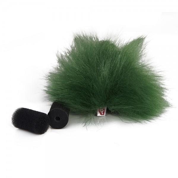 Rycote - Green Lavalier Windschutz - single Rycote