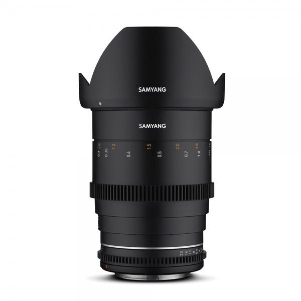 Samyang - MF 35mm T1,5 VDSLR MK2 mit Sony E-Mount Samyang